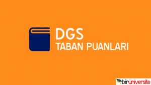 DGS İngiliz Dil Bilimi (İngilizce) 2019 Taban Puanları
