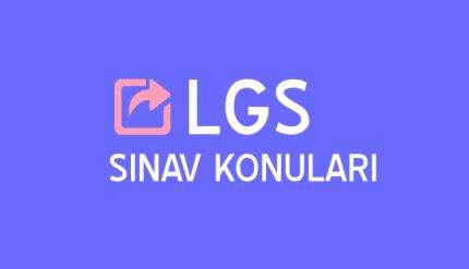 2019 LGS Türkçe Konuları ve Soru Dağılımı