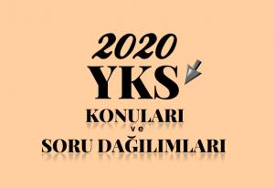 2020 YKS Konuları ve Soru Dağılımı (ÖSYM-YÖK-MEB)