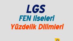 Fen Liseleri Yüzdelik Dilimleri 2020 (LGS-MEB)