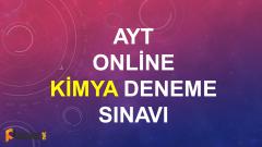 TYT Kimya Online Deneme Sınavı – 1