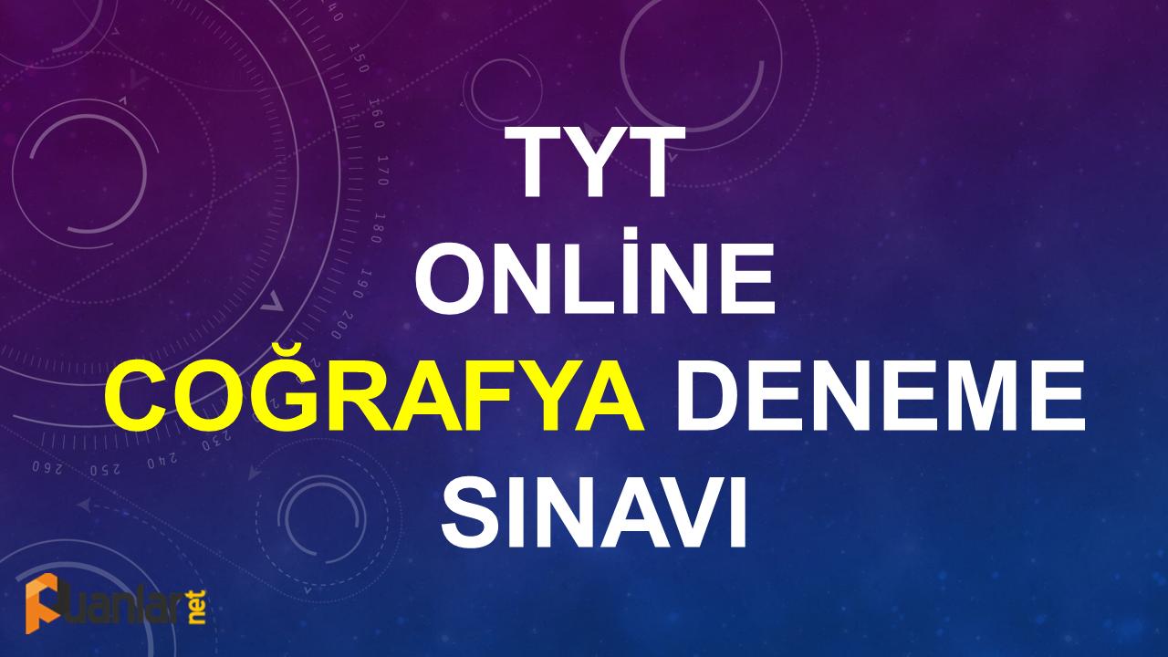tyt-online-cografya-deneme-sinavi-coz