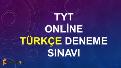 TYT Türkçe Online Deneme Sınavı – 1