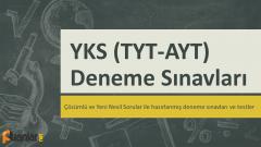 YKS (TYT – AYT) Deneme Sınavları İndir PDF 2020