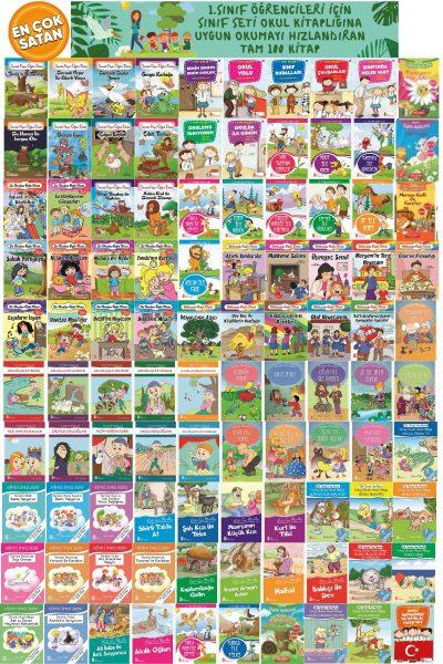 1.sınıf Öğrencileri Için Okumayı Hızlandıran Muhteşem Bir Set Tam 100 Kitap Evony Tonguç Tudem