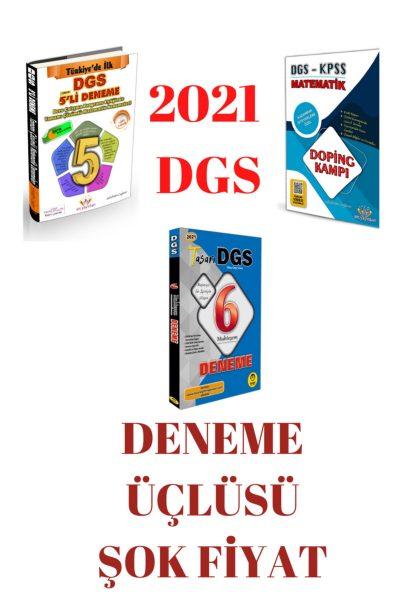 2021 Dgs Tasarı+atc Deneme Üçlüsü