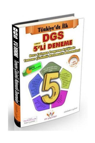 DGS Tamamı Çözümlü 5'li Matematik Deneme