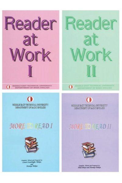 Reader At Work 1 Ve 2 Ve More To Read 1 Ve 2