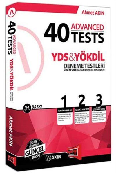 Yargı Yayınları Yds Yökdil 40 Advanced Tests Deneme