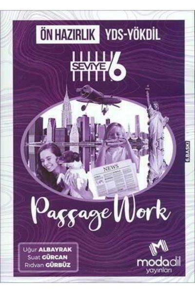 Yds Yökdil Ön Hazırlık Passagework Seviye 6